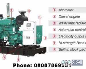 Powerful but Silent type Self-Start Diesel Generators from 3 kVA to 500 kVA 1 / 3 Phase Bengaluru, Karnataka, India
