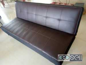 Sofa cum bed 2 years old in new condition