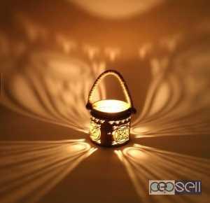 Copper Rope Lantern Lamp