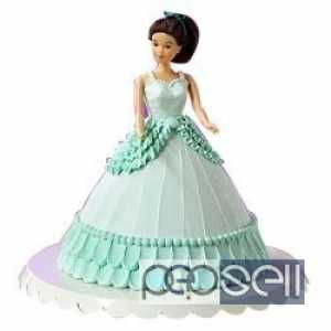 Princess Barbie Doll Birthday Cake online Delivery at Delhi