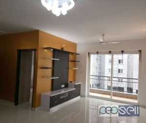 Hebbal 2 BHK Semi furnished spacious House for rent