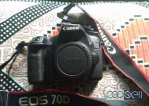 Canon 70D for sale at Koratty