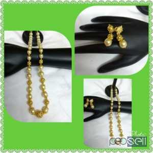 Pearl bead chains /Golden bead chains  Bangalore, India