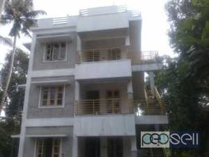 1200 sqft 2BHK semi furnished 1st or2nd floor flat for rent at Paruthipara