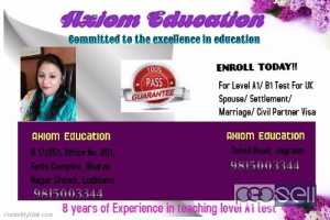 Ielts life skills level A1,B1 esol test centre in kapurthala, sangrur,LUDHIANA,MOHALI