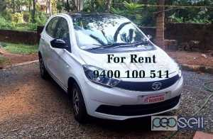 Tata Tiago Wiz for rent at Thrissur