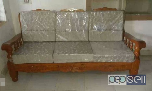 Trendiest Mysore Teakwood Sofa Set For Sale At Lingarajapura 8230