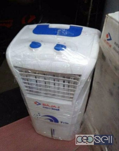 White And Blue Bajaj Portable Air Cooler for sale at Kadungallur Aluva 1