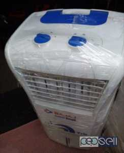 White And Blue Bajaj Portable Air Cooler for sale at Kadungallur Aluva