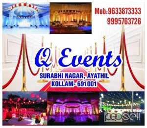 Q Event-Stage Decoration Kollam- Alleppy-Kollam-Idukki- Pathanamthitta