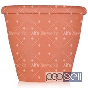 Terracotta Clay Flower Pot / Planter