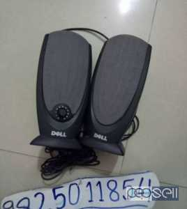 Dell branded speakers in good condition call