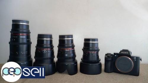 Sony alpha 7 mark 2 full frame camera with full frame 4 cine ...
