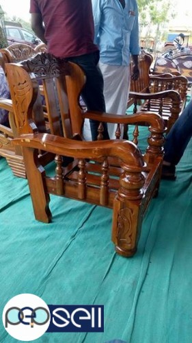 Brand New Assam Teak Wood Sofa 3 1 1 Warranty