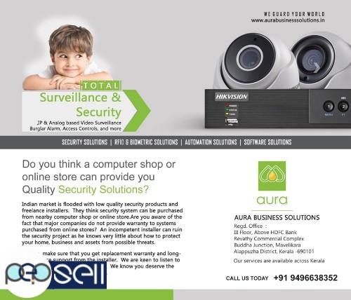 PROFESSIONAL CCTV CAMERA INSTALLATION IN KERALA-ANCHAL - Aura