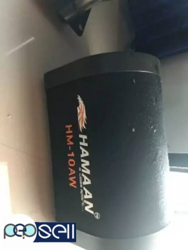 Hamaan subWoofer one month used 0