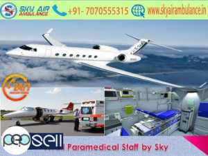 Avail Top Class Air Ambulance Service in Silchar with Safe Transportation by Sky