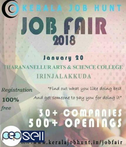 Kerala Job hunt Job Fair 2018 0