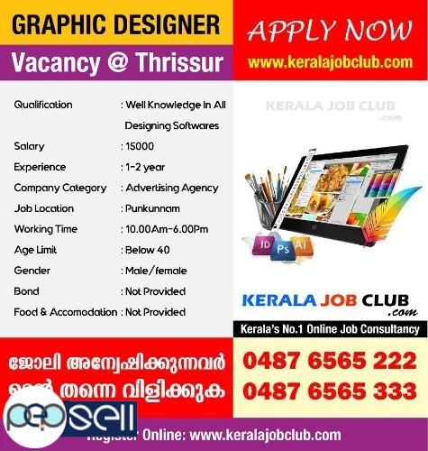 Graphic Designer Vacancy In Thrissur  0