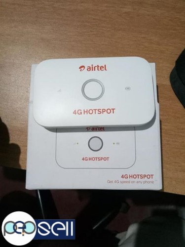 Airtel 4G Hotspot Fresh with Box 0