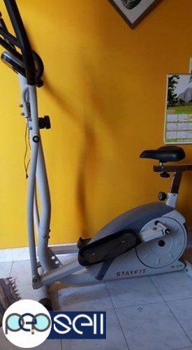 Elyptical bicycle with magnetic wheel for sale 0