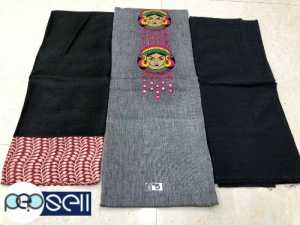 Pure handloom cotton churidar materials for sale in Kochi