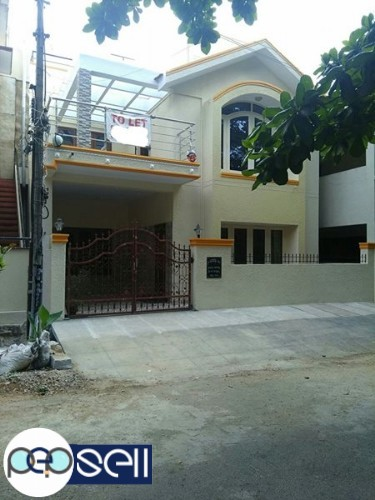 Duplex House for rent in HRBR layout 0