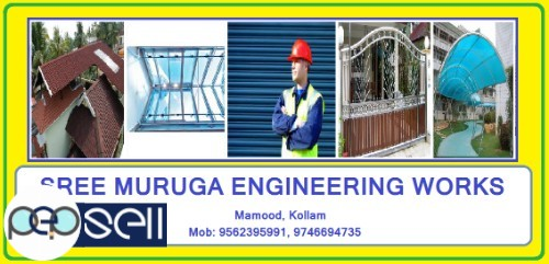 SREE MURUKA ENGINEERING WORKS, Roofing Worker in Kollam,Mamood,Quilon 0
