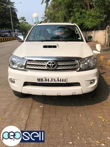 Toyota fortuner 2011 model for sale 0