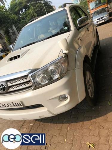 Toyota fortuner 2011 model for sale 1