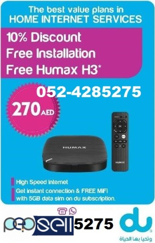 Du internet with Free TV Channels 1