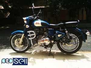Royal Enfield classic blue lagoon 350 model 2015 KMS 16000 done single owner.