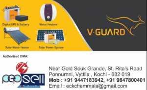 ELECTROLINE SYSTEMS V guard Inverter Dealer in Ernakulam -Perumbavoor-Aluva-Kalamassery-Muvattupuzha