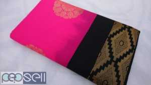 Fancy semi soft saree