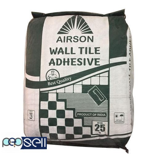 Offer Distributership for Tile Adhesive in Rajkot Airson Chemical 0