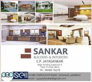SANKAR BUILDERS & INTERIORS, Interior Worker in Palakkad,Thrissur,Pollachi