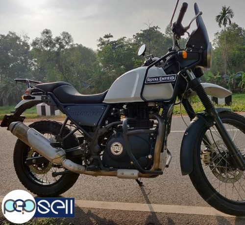 Royal Enfield Himalayan 2018 July in Alappuzha 0