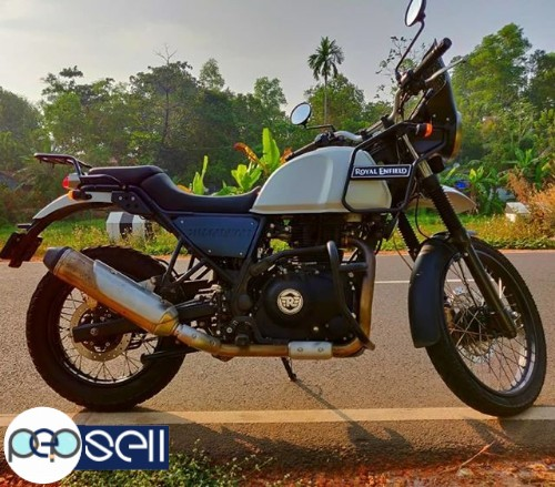 Royal Enfield Himalayan 2018 July in Alappuzha 1