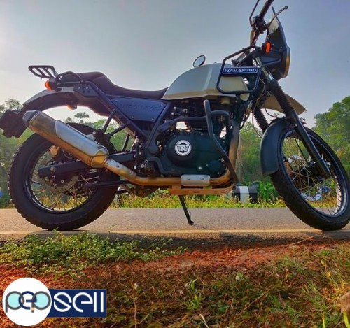 Royal Enfield Himalayan 2018 July in Alappuzha 3