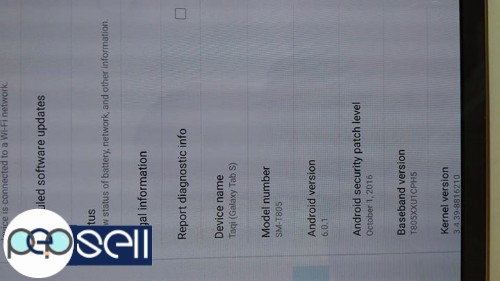 SAMSUNG GALAXY TAB S 16GB WITH SIM AT Bin Juma 4 - Al Nahda 1 3
