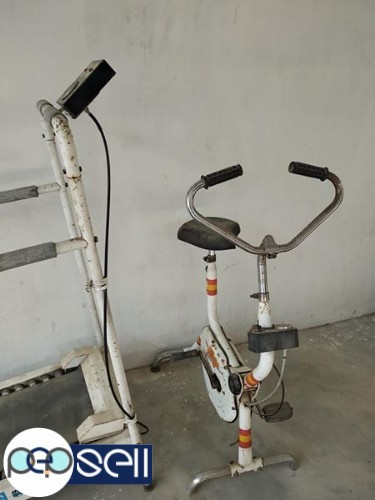 Fitness equipments Hero treadmill and cycle for sale 1