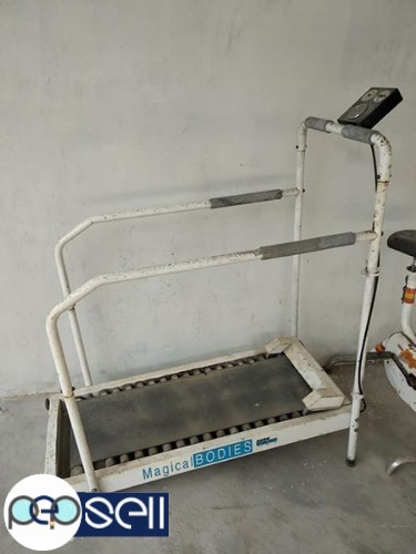 Fitness equipments Hero treadmill and cycle for sale 2