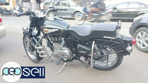 Royal Enfield bullet standard 500cc single owner 2500km drive only 0