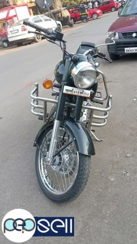 Royal Enfield bullet standard 500cc single owner 2500km drive only 1