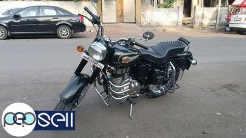 Royal Enfield bullet standard 500cc single owner 2500km drive only 2