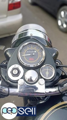 Royal Enfield bullet standard 500cc single owner 2500km drive only 3