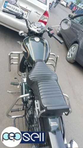 Royal Enfield bullet standard 500cc single owner 2500km drive only 4
