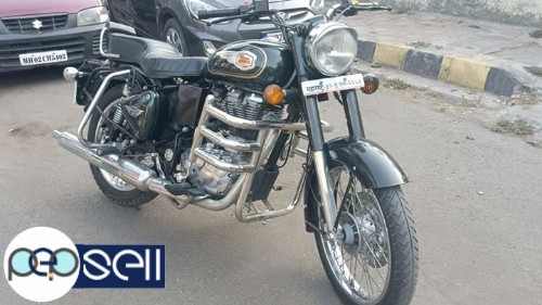Royal Enfield bullet standard 500cc single owner 2500km drive only 5