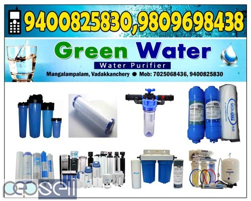 GREEN WATER VADAKKENCHERRY-Water Purifiers VADAKKENCHERRY, MANGALAM PALAM 1