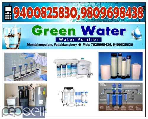 GREEN WATER VADAKKENCHERRY-Water Purifiers VADAKKENCHERRY, MANGALAM PALAM 4